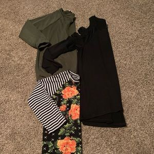 3 long sleeve tops